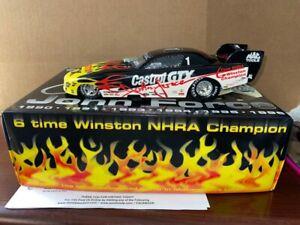 John Force 1:24 1996 Castrol 6 Time Champion Pontiac funny car MINT