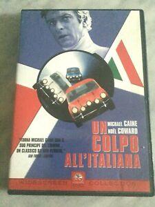 """DVD """"UN COLPO ALL'ITALIANA"""" MICHAEL CAINE COMPLETO WIDESCREEN PARAMOUNT ITALIA"""