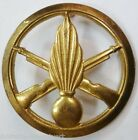 INSIGNE DE BERET INFANTERIE ORIGINAL Drago Paris FRENCH METAL CAP BADGE