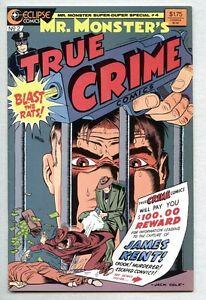 Mr. Monster's True Crime #2-1986  nm-  Eclipse Jack Cole