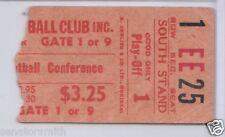 1959 Ottawa Rough Riders Playoff Ticket Stub vs Alouettes 43-0 (Russ Jackson)