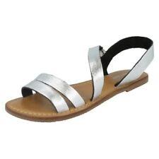37 Sandali e scarpe casual in argento per il mare da donna
