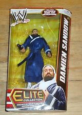2013 WWE WWF Mattel Damien Sandow Elite Wrestling Figure MIP Series 22 TNA
