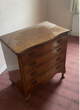 More details for antique victorian bow front chest of drawers