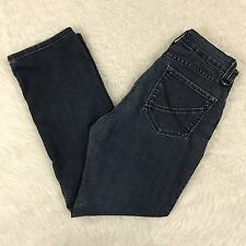 NYDJ Not Your Daughters Jeans Straight Leg Stretch Blue Denim Size 2P 2 Petite