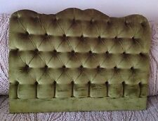Button Upholstered Single Bedhead,Vintage ,Retro,Paris apartment chic.