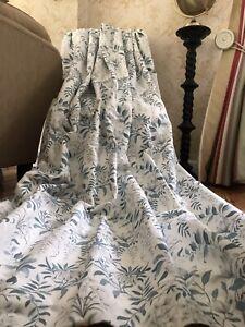 "MTM Parterre Off White Seaspray Curtains W 77"" (fixed 42"") x 91"" 195.5cm x 231cm"