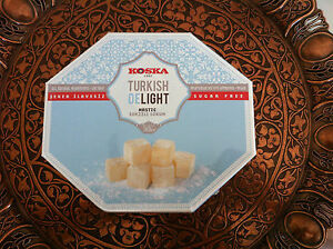KOSKA DIABETIC SUGAR FREE LIGHT GUM MASTIC TURKISH DELIGHT 2 x 160 gr