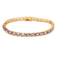 Silver Plated Amethyst Fine Bracelets