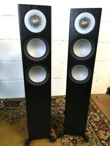 Monitor Audio Silver 200 Floorstanding Speakers in Black Oak - Preowned