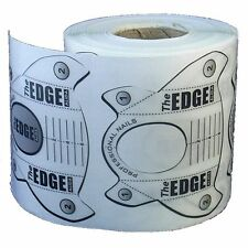 The Edge Clear Sculpture Perfect C Nail Forms 250 Roll acrylic,uv,gel tips
