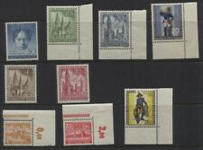 Germany Berlin Sc #9N80, 9N101-102, 9NB8-9NB13 MNH OG CV $122.50