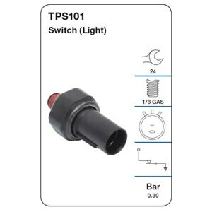 Tridon Oil Pressure Switch TPS101 fits Kia Pregio 2.7 D (TB)