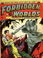 FORBIDDEN WORLDS COMICS ACG 145 ISSUES ON DVD-ROM