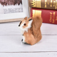 1pc Simulation Squirrel Plush Stuffed Doll Animal Toy Children Gift Home Deco^P