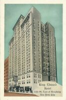 NEW YORK CITY – King Edward Hotel (44th Street East of Broadway)