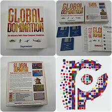 Global Domination una impressioni Gioco COMMODORE AMIGA COMPUTER Testato & Lavoro