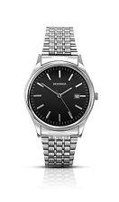 Sekonda Mens Black Dial Silver Stainless Steel Bracelet Watch 1150 RRP £49.99
