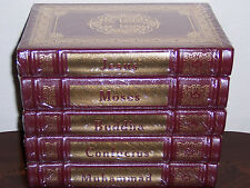 Easton Press FOUNDERS OF GREAT RELIGIONS 5 Moses Jesus Muhammad Buddha Confucius