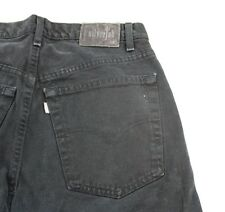 MENS Levi's SilverTab Baggy Dark Denim Loose Vintage Jeans USA Made Sz 33x32