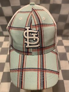 St Louis CARDINALS Baseball Plaid US Cellular Adjustable Adult Cap Hat