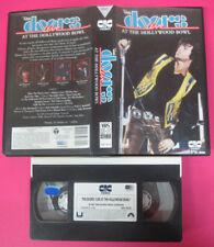 VHS THE DOORS Live at the hollywood bowl 1991 JIM MORRISON CIC(VM10)no mc dvd lp