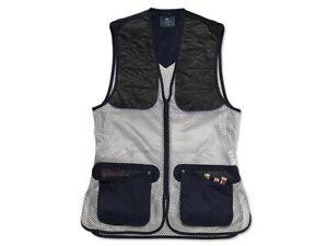 Beretta Women's Ambidextrous Shooting Vest. Navy/Pruple. Size 2XLarge.