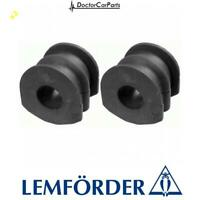2x Anti-roll Bar Stabiliser Bush Rear for NISSAN MURANO 3.5 03-07 Lemforder
