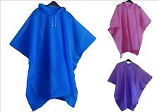 Imperméable Forme Poncho vêtement de pluie coupe Vent avec capuche idéal sport