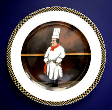 """Chef Michele - 1 Dinner Plate 10.5"""" from the Guy Buffet Chef Suite - Germany"""