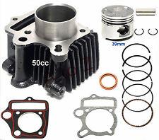 39mm Cylinder Gasket Kit Piston Pin Ring Set for 50cc ATV Go Kart Dirt Bike