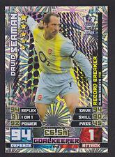 Match Attax 2014/2015 - Record Breaker - 444 David Seaman - Arsenal