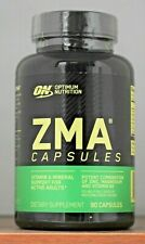 Zinc Optimum Nutrition ZMA Muscle Strength 90 capsules T Support ON Immune Boost