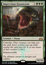 Impervious Greatwurm FOIL | NM | Buy a Box Promo | Magic MTG