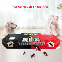 10pcs Cockroach Roach House Traps Disposable Insect  Pest Control Ants Spider