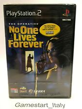 THE OPERATIVE NO ONE LIVES FOREVER - SONY PS2 - GIOCO NUOVO SIGILLATO PAL