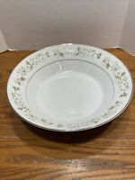 Imperial China Wild Flower Serving Bowl By W. Dalton Made In Japan No. 745 9""