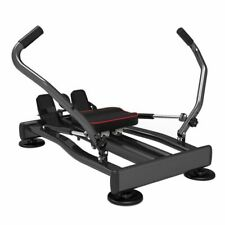 Full Motion Rowing Machine Rower w/350lb Weight Capacity LCD Monitor Home Fitnes