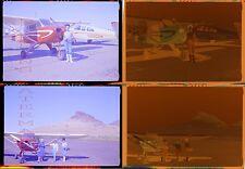 Vintage Photo Negatives Women w/ Piper Airplane 737053
