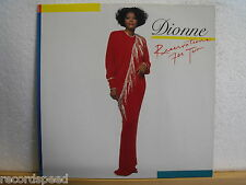 ★★ LP - DIONNE WARWICK - Reservations For Two - Arista 1987 Germany - OIS Lyrics