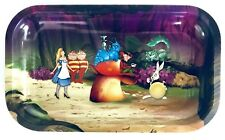 Drehtablett ALICE FOREST Rolling Tray Tablett V-Syndicate Metal small 27x16x1