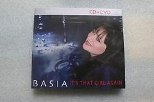 Basia - It's That Girl Again - Special Edition CD+DVD POLISH RELEASE NEW SEALED