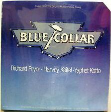 BLUE COLLAR Soundtrack US 1978 SEALED LP Captain Beefheart NITZSCHE Ry Cooder
