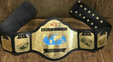 WCW World TELEVISION Wrestling Championship Replica Belt