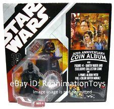 Star Wars 30th Anniversary Darth Vader Collectors Coin Album MOC Mint MISB