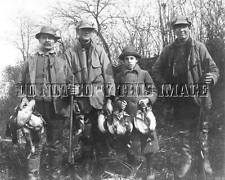 ANTIQUE REPRO PHOTOGRAPH PRINT 8x10 DUCK HUNTING PARKER BROS SHOTGUN  NICE IMAGE