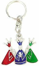 Three Wise Men Biblical / Bible Christmas Enamel Key Ring + Gift Bag