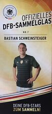 WM 2018 Offizielles DFB Sammelglas Bastian Schweinsteiger Fanartikel Glas Fan