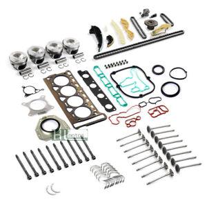 Engine Overhaul Kit Repair Set Pistons Seals For VW Audi 2.0 TSI CAEA CAWB CCZA