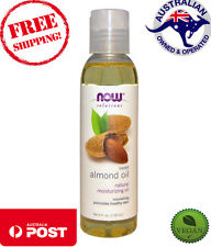 Now Foods Solutions - Sweet Almond Oil - 118 ml - Cruelty Free Vegan Skin Care